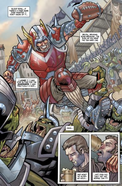 Blood Bowl: More Guts More Glory #1