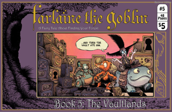 Farlaine the Goblin: Book 5:The Vaultlands