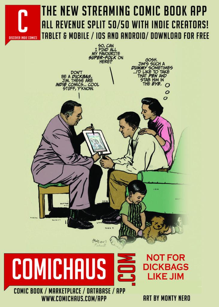 Comichaus app