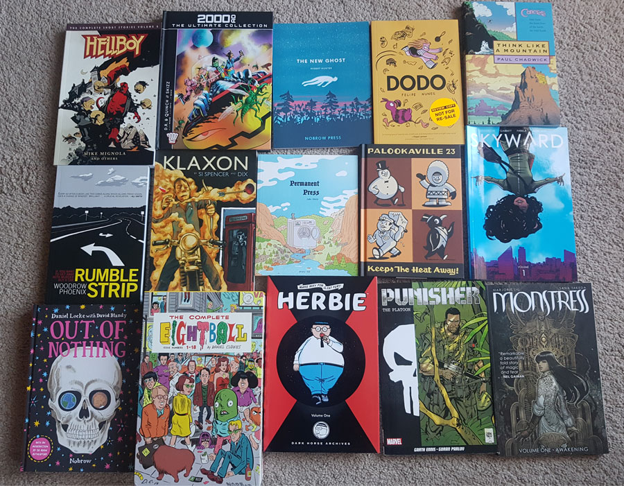 Graphic novel reading list
