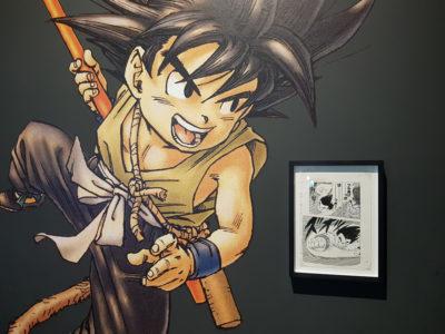 Manga at the British Museum - Dragonball