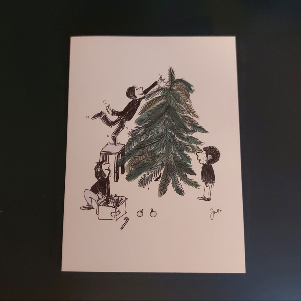 Julia Kay Chrsitmas card